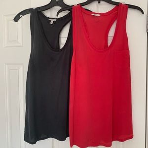 Pair of Joie tips black and red size M Preowned